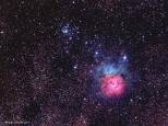 M20 - The Trifid Nebula - Taken in Kilmore,  Vic with SBIG ST8300 OSC