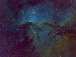 Fighting Dragons - NGC6188 - this year's image.