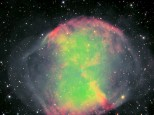 M27 Dumbbell nebula with 1.4m scope