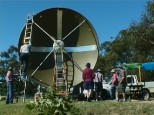 The 4.6 Meter Dish at Officer - could be re-located to LMRO