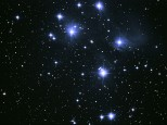M45 The Pleiades Oen Cluster in Taurus