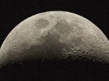Feb 14, 2016. Moon thru a LX600 scope with a Canon 550d camera. Single exposure of 1/80 sec x 200 iso.