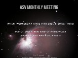 April Monthly Meeting