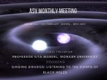 ASV February Monthly Meeting