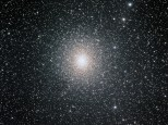 Omega Centauri with the ED80 and 0.85 reducer on a QHY9M and EQ8 mount.