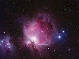 The Orion and Running Man nebulae