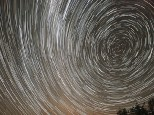 Biolumiscence Star Trail