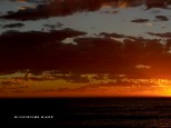 Sun set at Port Campbell 22 January 2015.  EOS 600D, ISO 200, 1/60 sec, 18 - 135mm Zoom at 80mm.