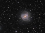 The Southern Pinwheel Galaxy, M83, Hydra