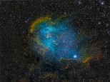 The Running Chicken nebula