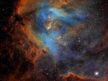IC 2944 nebula, the Running Chicken nebula