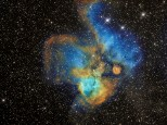 NGC 2467 (the Skull and Crossbones) nebula, though I think it looks more like a butterfly!