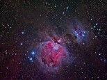 Th great Orion nebula