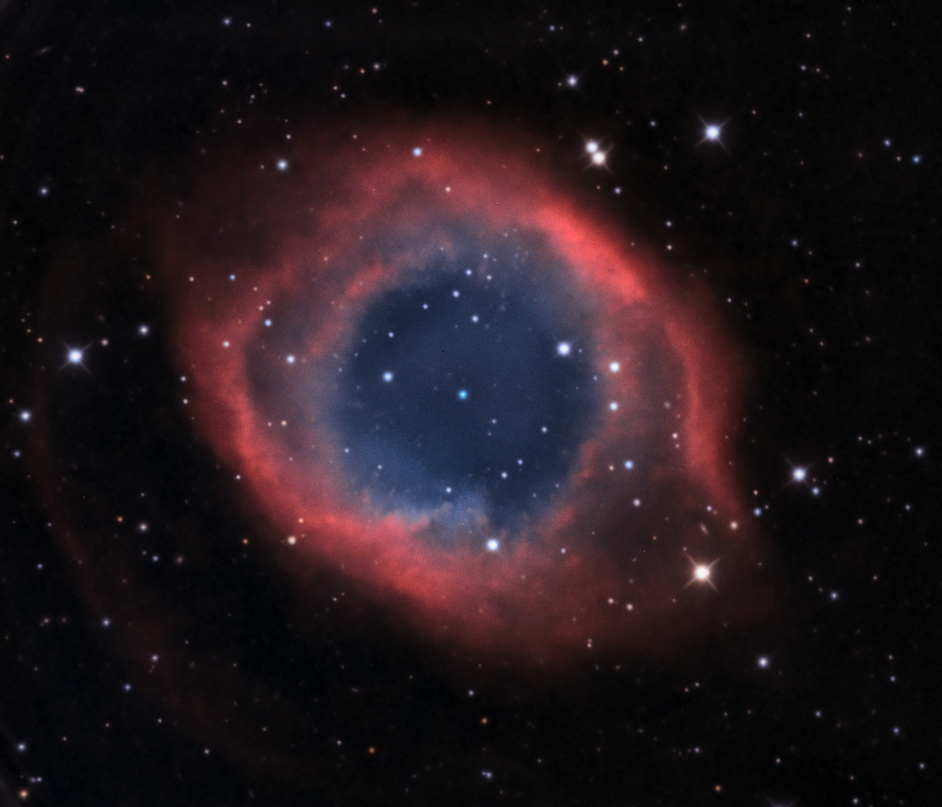 The Helix Nebula by Luke Bellani
